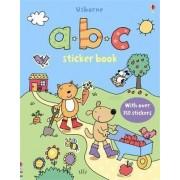 ABC Sticker Book by Sam Taplin