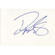 Danny Masterson Autographed Index Card