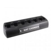 """""""nabíječka pro 6ks vysílačkové baterie Icom IC-F14S"""""""