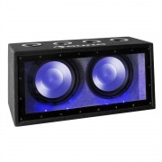 "auna Cannonbeat TX12, 2 x 30 cm (12""), 2 x 300 W, LED, passzív autó subwoofer (CS-Cannonbeat TX12)"