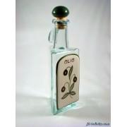 Bottiglia vetro e ceramica a550