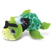 Puzzled Super Soft Green Pirate Sea Turtle Plush 9