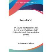 Raccolta V1 by Of Bologna Archdiocese of Bologna