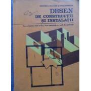 Desen De Constructii Si Instalatii Manual Pentru Clasa A Ix-a - Vasile Sarbu, Delia Prundeanu, Radu Margineanu