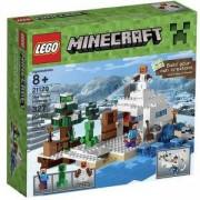 Koнструктор ЛЕГО МАЙНКРАФТ - СНЕЖНОТО СКРИВАЛИЩЕ - LEGO Minecraft, 21120