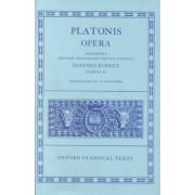 Plato Opera: Volume 2 by Plato