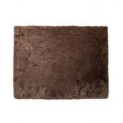 Alfombra shaggy color chocolate 160x230 cm UGO - Miliboo