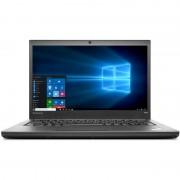 Laptop Lenovo ThinkPad T440p 14 inch HD+ Intel Core i5-4210M 4GB DDR3 500GB HDD FPR Windows 7 Pro upgrade Windows 10 Pro Black