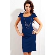 Sukienka 131 (chabrowy)