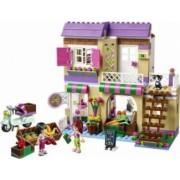 Set Constructie Lego Friends Piata De Alimente Din Heartlake
