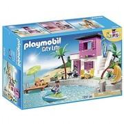 PLAYMOBIL Luxury Beach House Playset