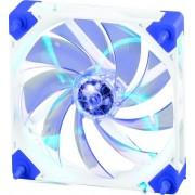 Ventilator Super Flower SF-F101-W-BL-BD (LED albastru, rama alba)