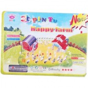 Neska Moda Happy Farm 3D Construction Puzzle Toy for Kids Creative Attention Building Easy to Assemble Min Age 3 Years