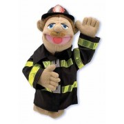 Handpop brandweerman Melissa and Doug