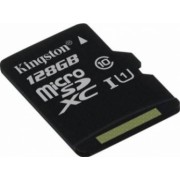 Card de Memorie Kingston microSDXC 128GB Clasa 10 45MBps