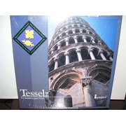 Tesselz Leaning Tower of Pisa Square and Diamond Series - Tessellation Jigsaw Puzzle by Tesselz