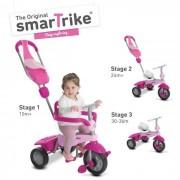 Smart Trike Tricycle Breeze Gl 3 En 1 - Rose