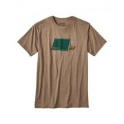 Patagonia T-Shirt M's Napping Camper Cotton/Poly