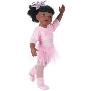 Gotz 1159850 Hannah at the ballet, 50 cm, afro-american, black hair, 15 pieces