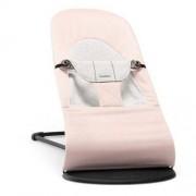 BABYBJORN - leżaczek BALANCE SOFT - Pink/Grey Jersey