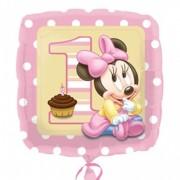 Balon folie Minnie First Birthday