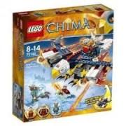 LEGO CHIMA Nava zburatoare de foc a lui Eris 70142