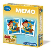Clementoni 13418 - Memo Games Jake and the Neverland Pirates