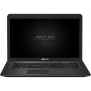 "Notebook Asus F756UX, 17.3"" Full HD, Intel Core i7-6500U, GTX 950M-4GB, RAM 8GB, HDD 2TB + SSD 16G, FreeDOS, Maro"