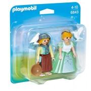 Playmobil 6843 Princess And Handmaid Duo Pack New 2016