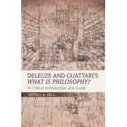 Deleuze and Guattari's What is Philosophy? by Jeffrey A. Bell
