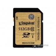 Card de memorie Kingston SDXC 512GB Class10 UHS-I 90R/45W