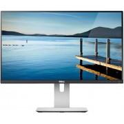 "Monitor IPS LED Dell 23.8"" U2414H, Full HD (1920 x 1080), HDMI, DisplayPort, 8 ms GTG, USB 3.0 (Negru) + Bitdefender Antivirus Plus 2017, 1 PC, 1 an, Licenta noua, Scratch Card"