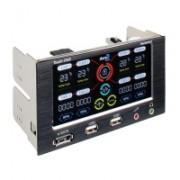 Aerocool Touch-2000 Touchscreen Fancontroller - 2x 5,25 pollici