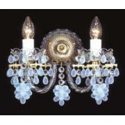 Crystal wall sconce 4030 02HK-3635