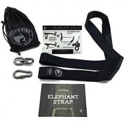 TREE SWING HANGING STRAP KIT with Heavy Duty Hardware Easy installation & removal on trees - posts etc 1 - 60 strap 1 - safety lock carabiner 1 - swivel 1 - carry bag - Holds 1000 lbs