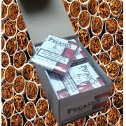 Bax cu 16 pachete tigari de foi Pegasus si discount