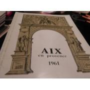 Programme Du Du Festival De Musique D'aix En Provence§1961 /