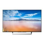 "Sony KDL-49XD8077 49"" 4K Ultra HD LED TV BRAVIA, DVB-C/DVB-T/T2/DVB-S/S2, XR 400Hz, Wi-Fi, HDMI, USB, Voice Remote, Silver"