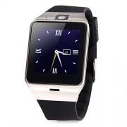 Aplus GV08S Smartwatch mit Bluetooth und NFC, Kamera, Sim-und Micro SD Karten-Slot, 1,5 Zoll, schwarz/silber