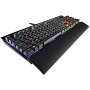 Teclado Corsair Gaming K70 LUX RGB Mecanico Gamer - Negro