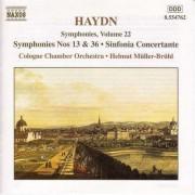 J. Haydn - Symphonies Vol.22 (0636943476222) (1 CD)