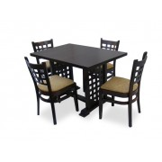 Set mobilier dining : Masa MD 170 D si 4 scaune