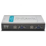 D-Link 4-Port USB KVM Switch (DKVM-4U)