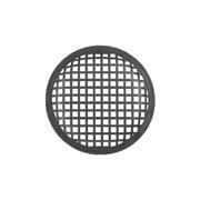 Griglia per altoparlanti professionali con diametro da 170 mm. Modello: Monacor MZF-8627.