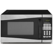Hamilton Beach EM925AJW-P1 0.9 cu ft 900W 10 Power Levels Microwave, Stainless Steel, Silver/Black Color