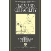 Harm and Culpability by A. P. Simester