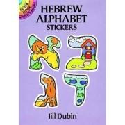 Hebrew Alphabet Stickers by Jill Dubin