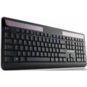 Tastatura Wireless cu panou solar Modecom MC-SK1 cu Layout in Limba Maghiara
