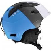 Alpina Snowmythos Helmet white-silver-blue matt Ski- & Snowboardhelme