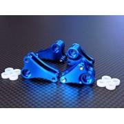 Traxxas 1/16 Mini E-Revo, Mini Slash Upgrade Parts Aluminium Front+Rear Rocker Arm - 4Pcs Set Blue